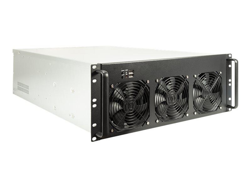 Inter-Tech 4F28 Mining - Rack-Montage - 4U - Erweitertes ATX - ohne Netzteil (ATX)