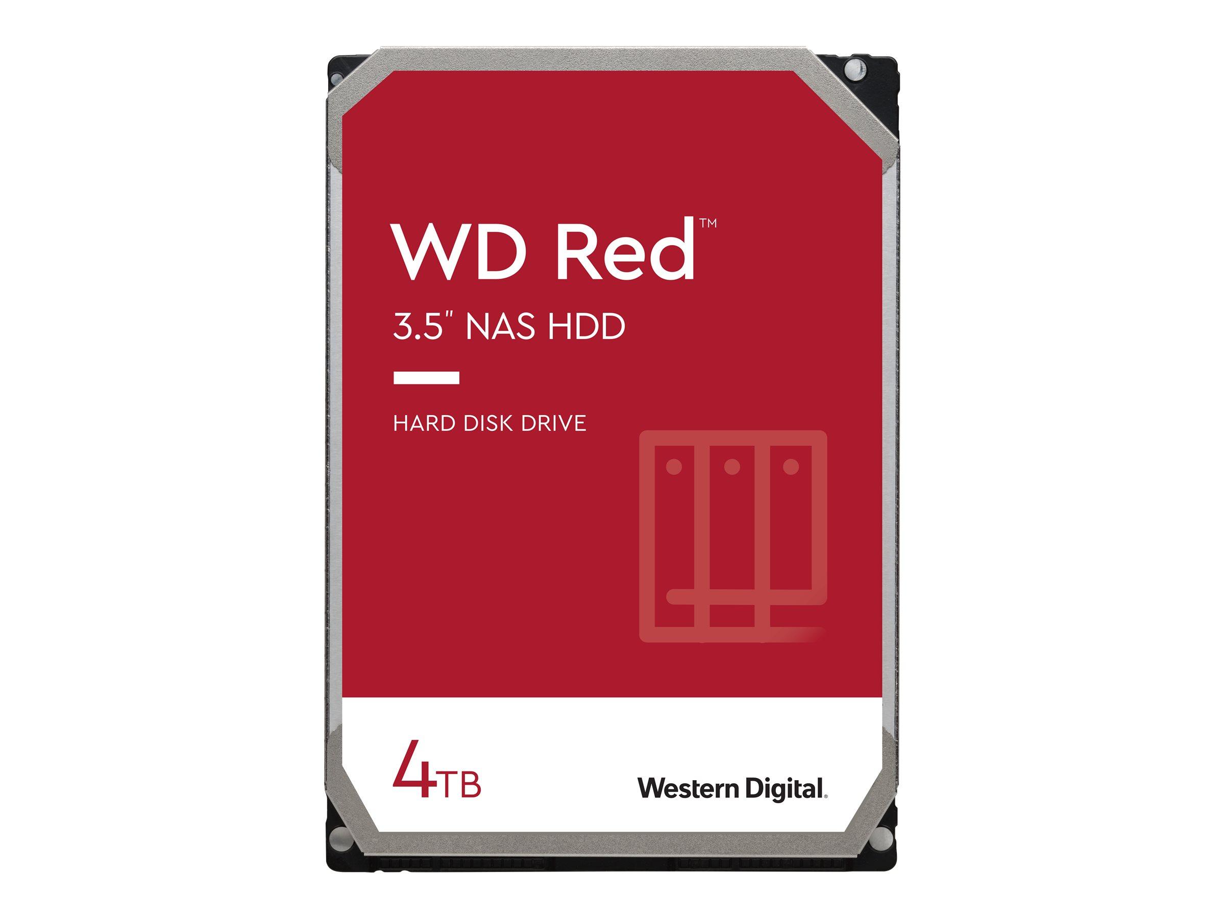 "WD Red NAS Hard Drive WD40EFAX - Festplatte - 4 TB - intern - 3.5"" (8.9 cm)"