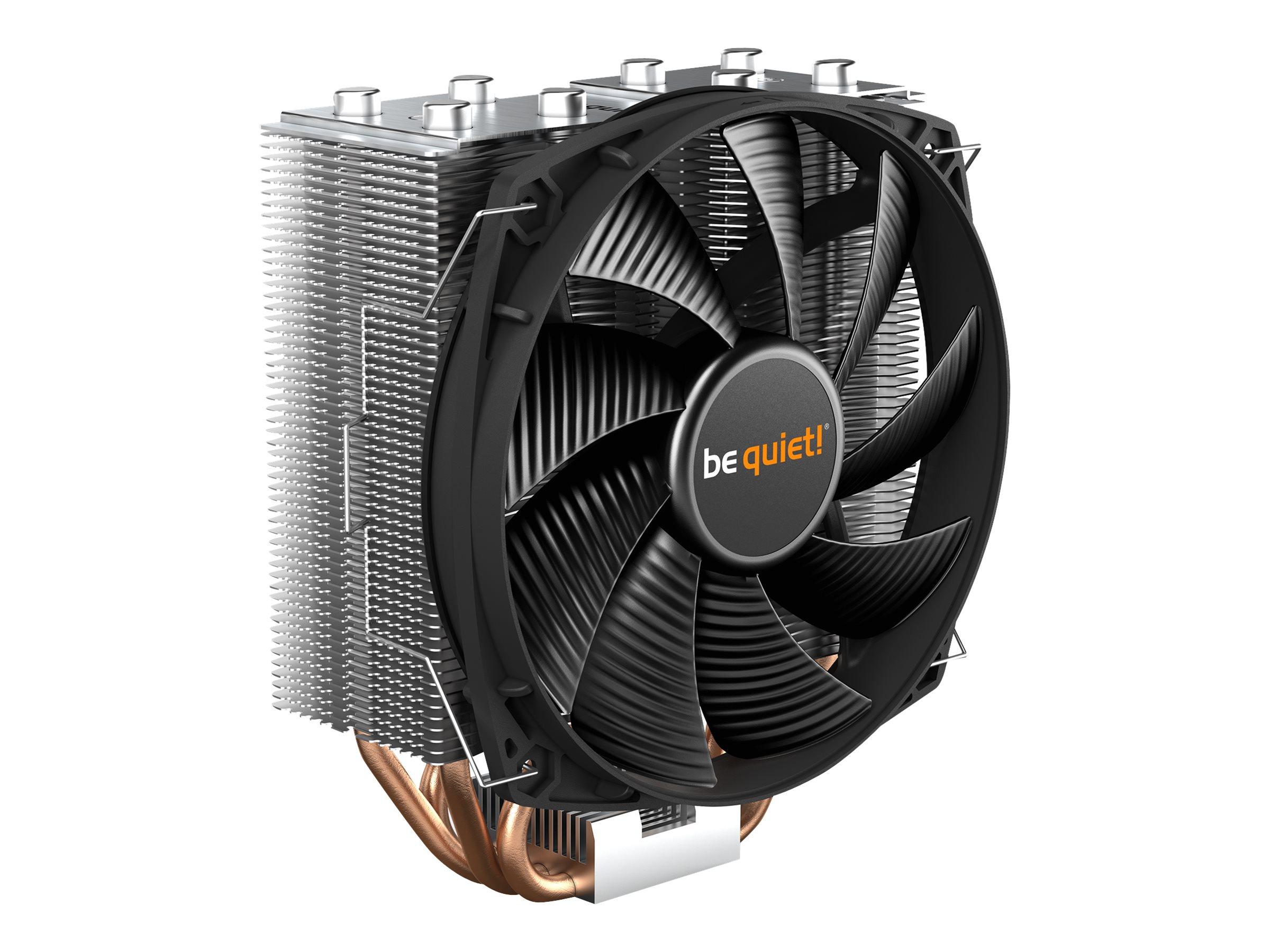 Revoltec be quiet! Shadow Rock Slim 2 - Prozessor-Luftkühler - (für: LGA1155, AM3+, LGA1150, LGA1151, LGA2011-3 (Square ILM)
