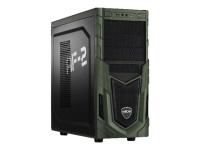 Military Gaming 5717 3.6GHz i7-7700 Schwarz - Grün PC