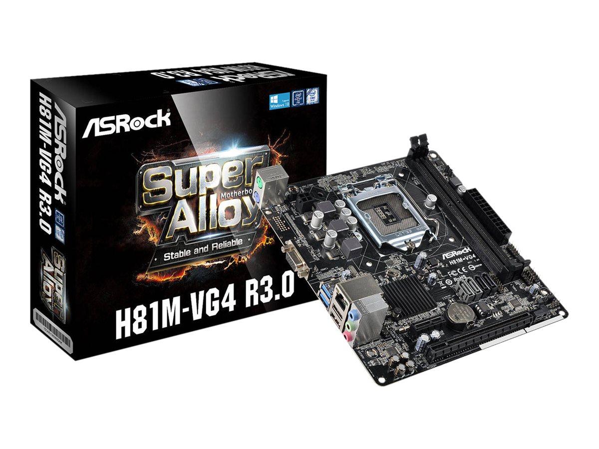 ASRock H81M-VG4 - 3.0 - Motherboard