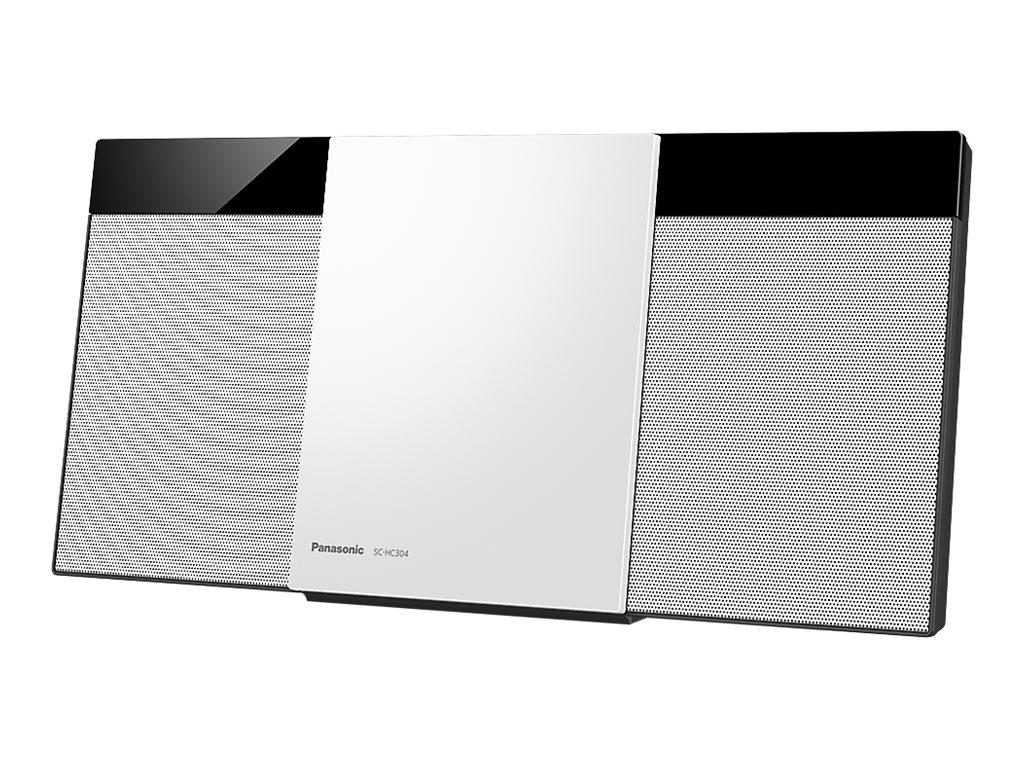 Panasonic SC-HC304 - Microsystem 10 Watt - wei?