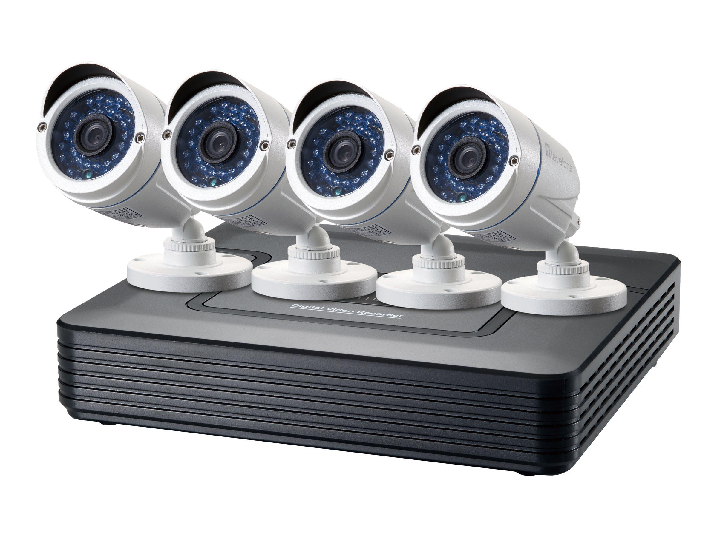 LevelOne DSK-4001 - DVR + Kamera(s) - verkabelt
