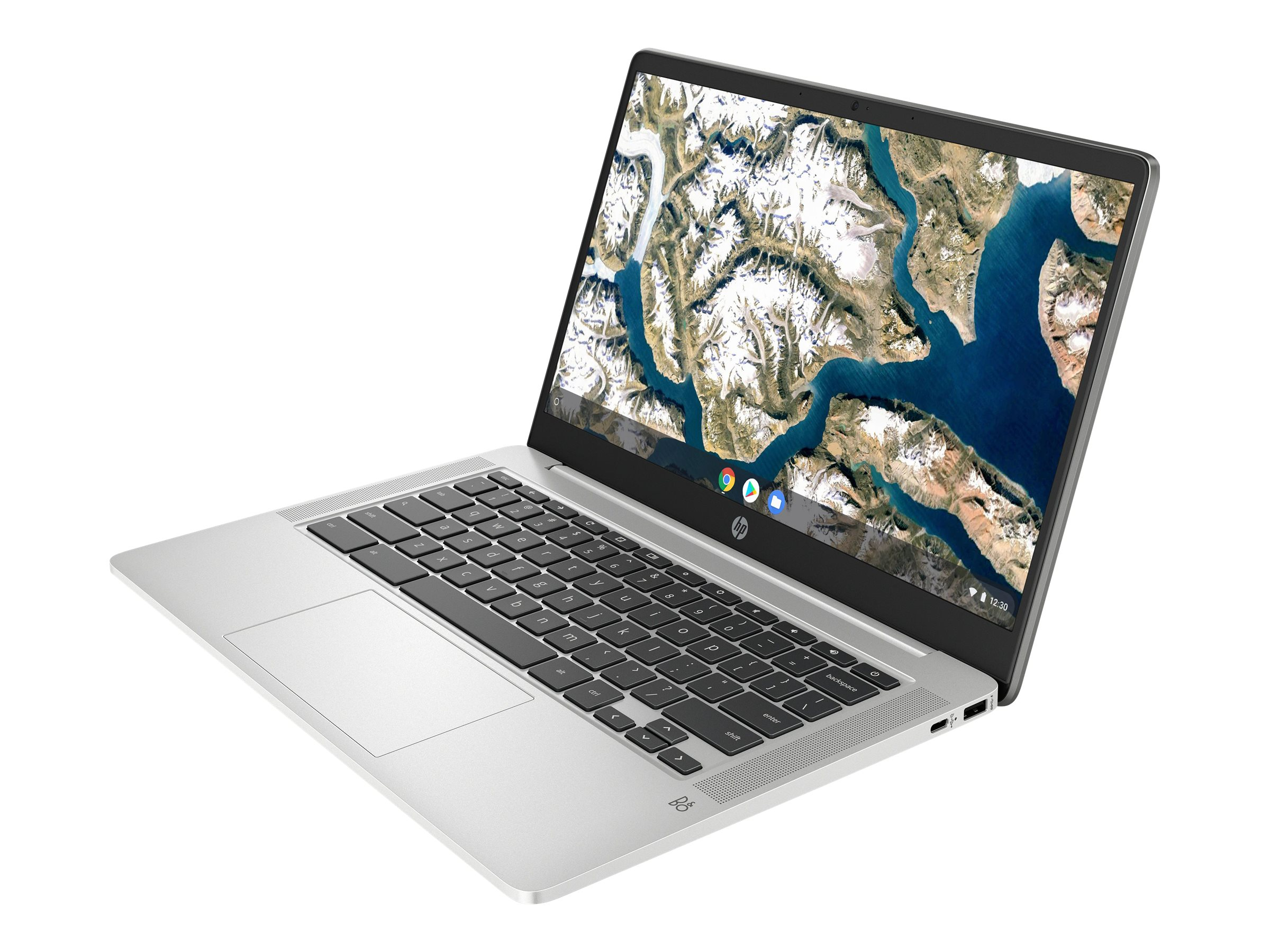 "HP Chromebook 14a-na0031ng - Pentium Silver N5030 / 1.1 GHz - Chrome OS - 4 GB RAM - 64 GB eMMC - 35.6 cm (14"")"