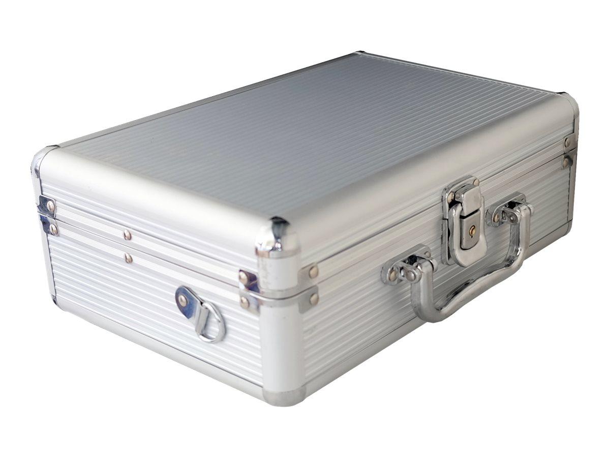 MEDIARANGE Hartschalentasche für portable HDD