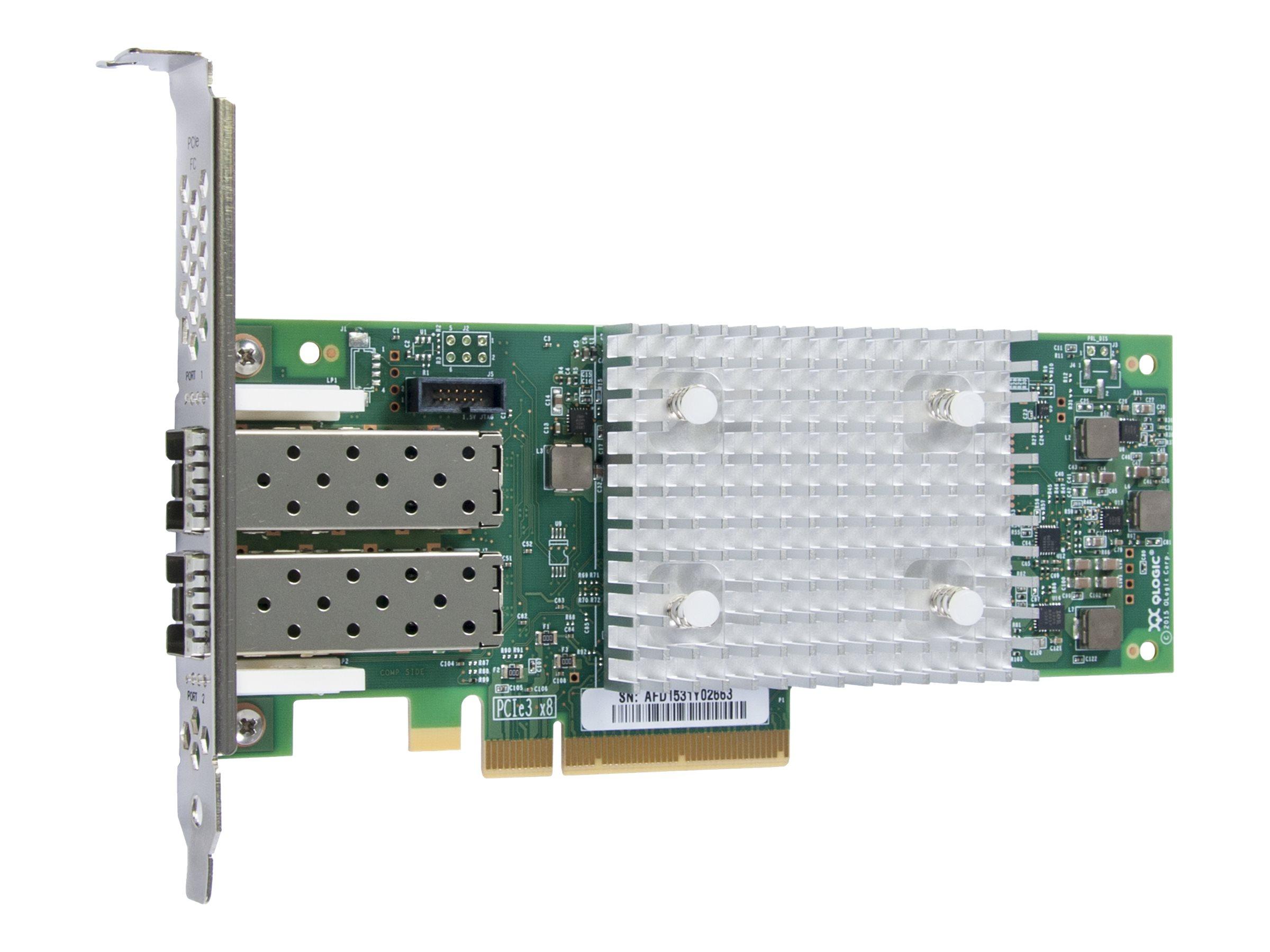 Fujitsu Qlogic QLE2692 - Hostbus-Adapter - PCIe 3.0 x8 Low-Profile