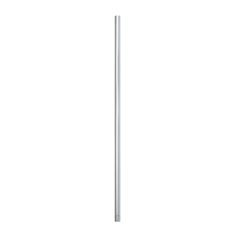 Patlite POLE-100A21+O0109 - Montageset - Silber - Aluminium - PATLITE LR6-USB - 100 mm - 2,2 cm