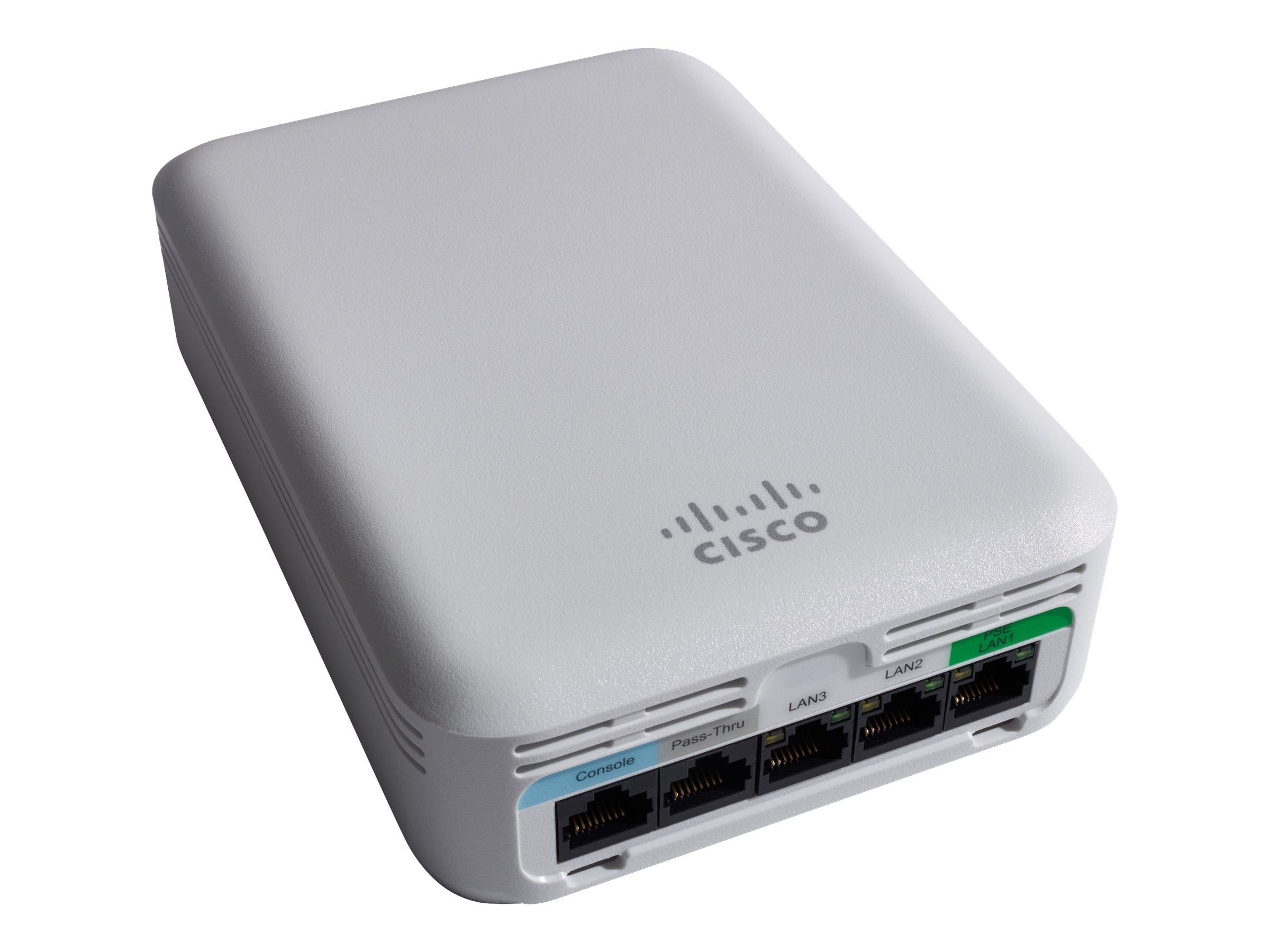 Cisco Aironet 1810W - Funkbasisstation - Bluetooth 4.1, 802.11ac Wave 2 (draft 5.0)