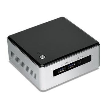 Intel NUC BLKNUC5I3MYHE BGA 1168 2.1GHz i3-5010U UCFF Schwarz - Silber PC/Workstation Barebone