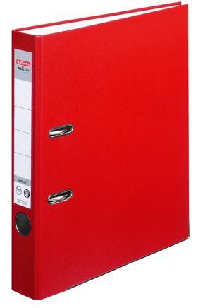 Herlitz 9942582 - A4 - Polypropylen (PP) - Rot - 5 cm - 5 Stück(e)