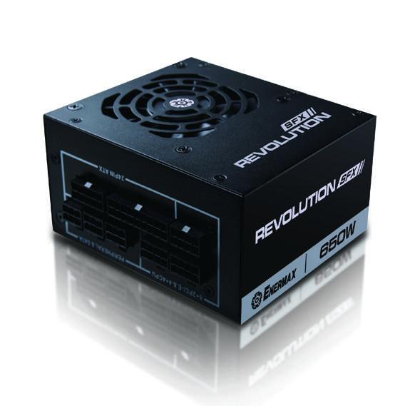 Enermax-ERV650SWT-REVOLUTION-SFX-650W-SFX-Black-power-supply-unit-100-240-VAC