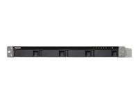 TS-453BU-RP NAS Tower Eingebauter Ethernet-Anschluss Schwarz