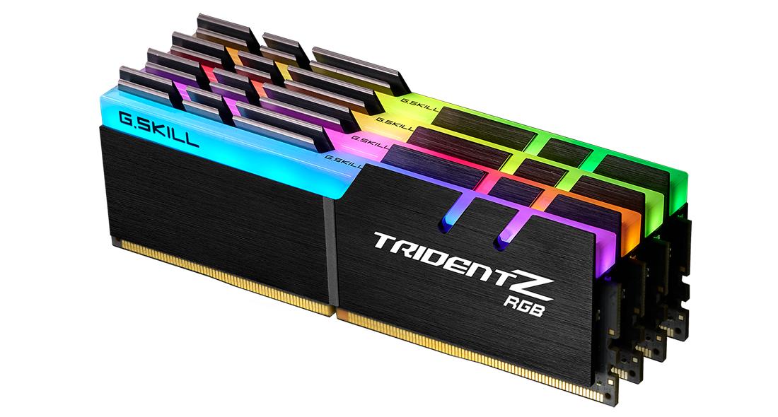 G.Skill Trident Z RGB F4-3600C16Q-128GTZR - 128 GB - 4 x 32 GB - DDR4 - 3600 MHz