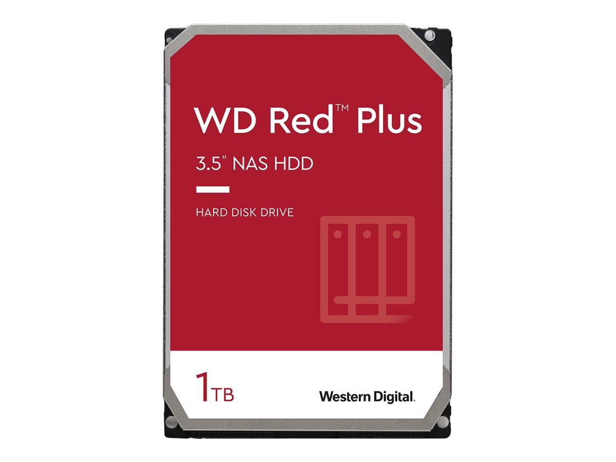 "WD Red Plus NAS Hard Drive WD10EFRX - Festplatte - 1 TB - intern - 3.5"" (8.9 cm)"