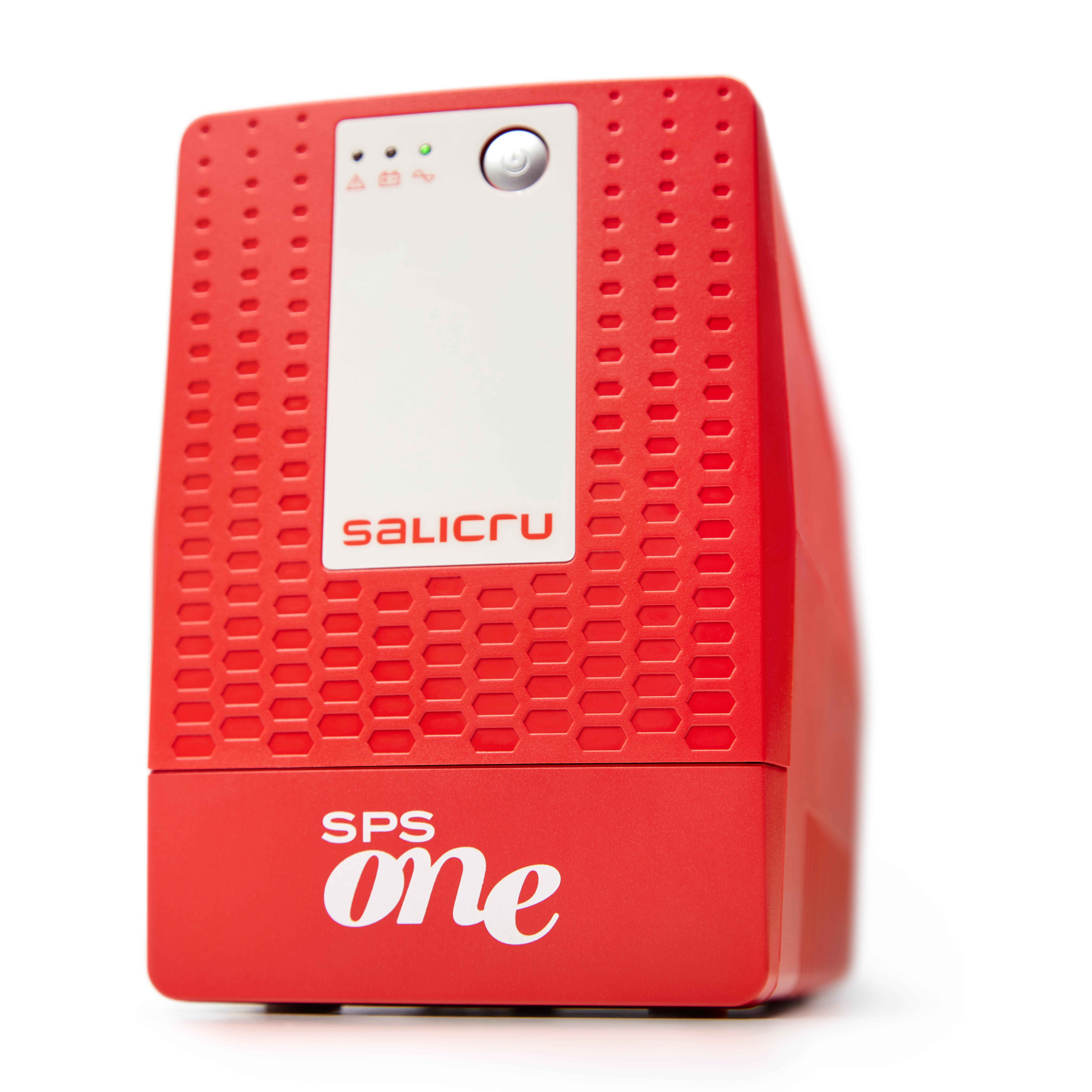 SALICRU SPS 1100 ONE - Line-Interaktiv - 1100 VA - 600 W - Sine - 162 V - 290 V