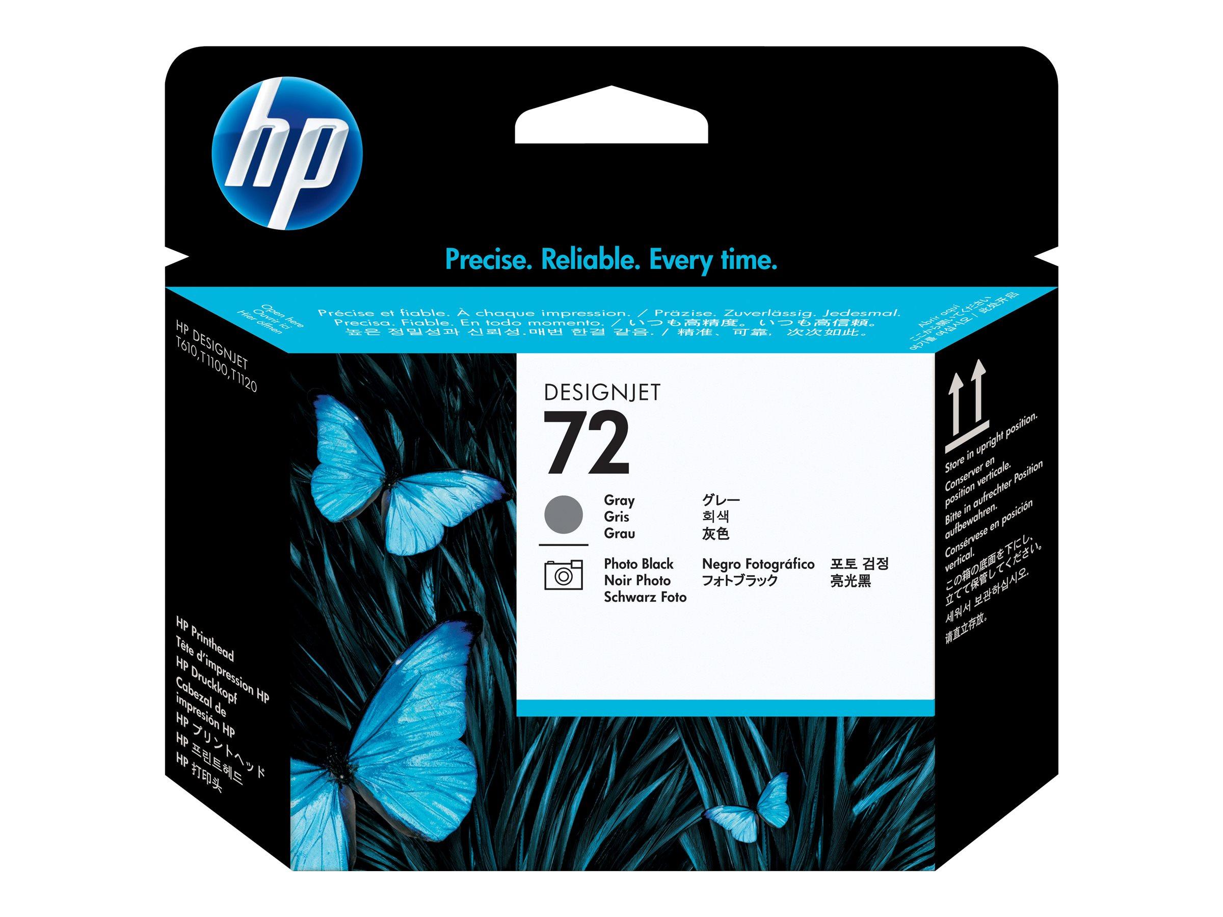 HP 72 - Grau, Photo schwarz - Druckkopf - für DesignJet HD Pro MFP