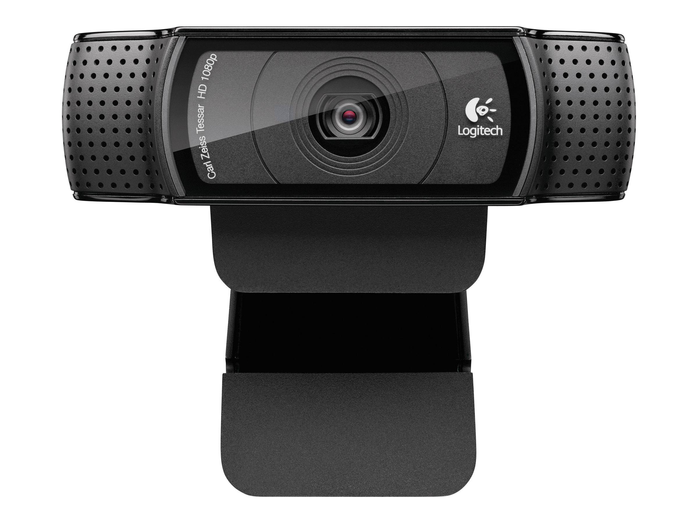 Logitech HD Pro Webcam C920 - Web-Kamera - Farbe