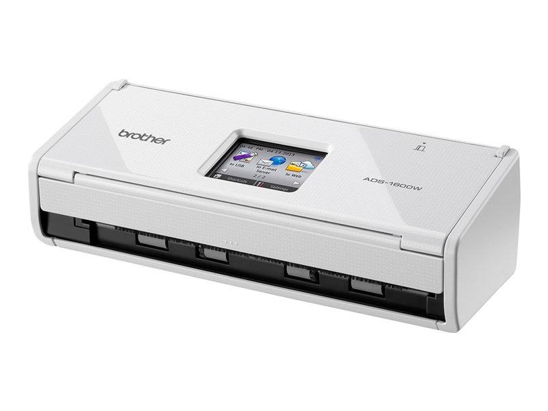 Brother ADS-1600W - Dokumentenscanner - Duplex - 216 x 863 mm - 600 dpi x 600 dpi - bis zu 18 Seiten/Min. (einfarbig)