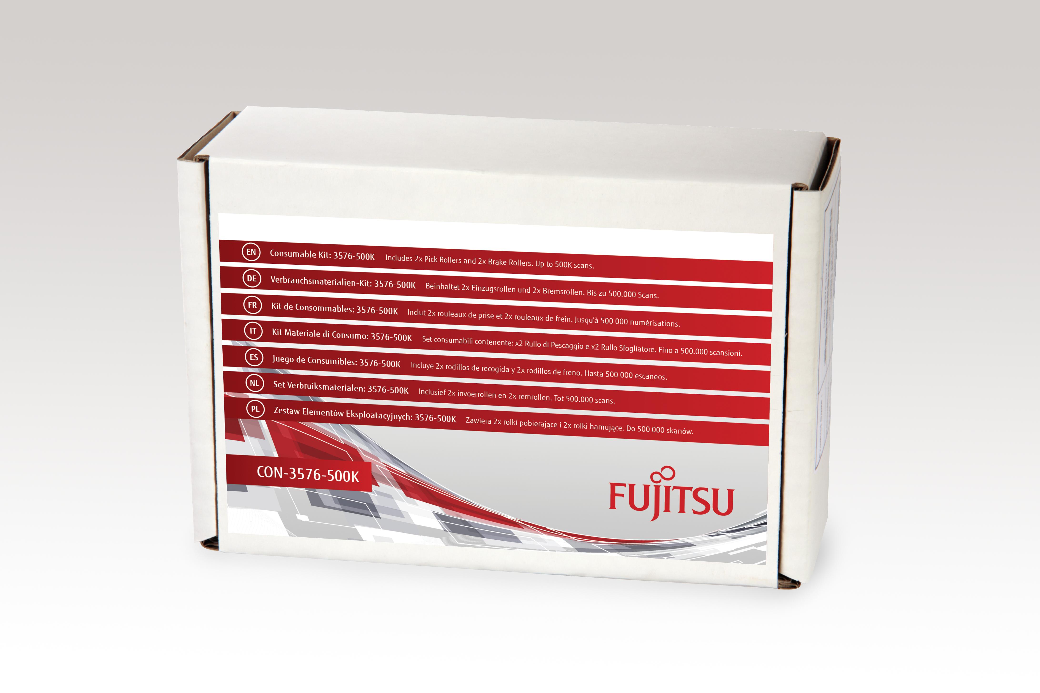 Fujitsu Consumable Kit: 3576-500K - Scanner - Verbrauchsmaterialienkit