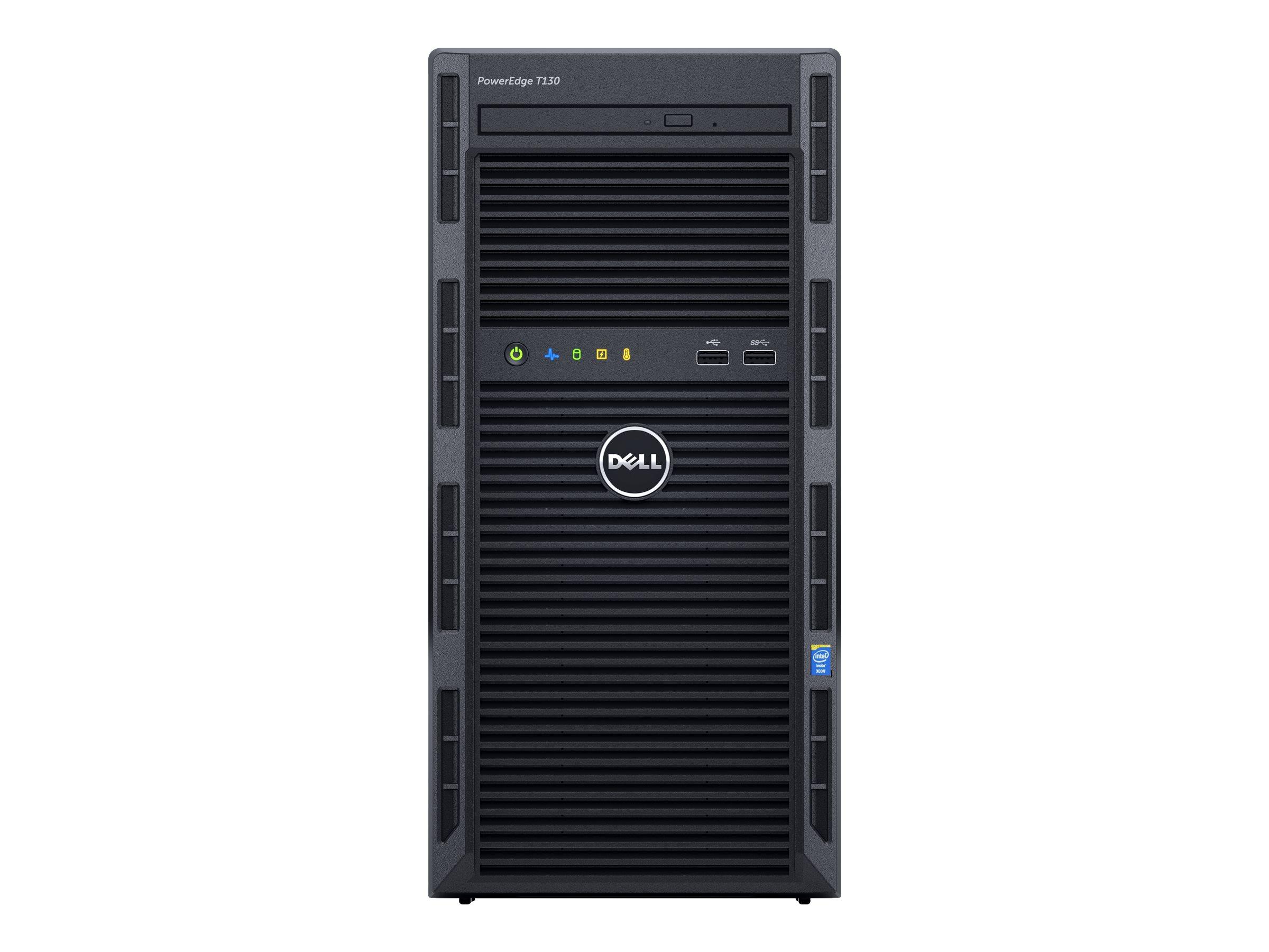 Dell PowerEdge T130 - Server - MT - 1-Weg - 1 x Xeon E3-1220V6 / 3 GHz