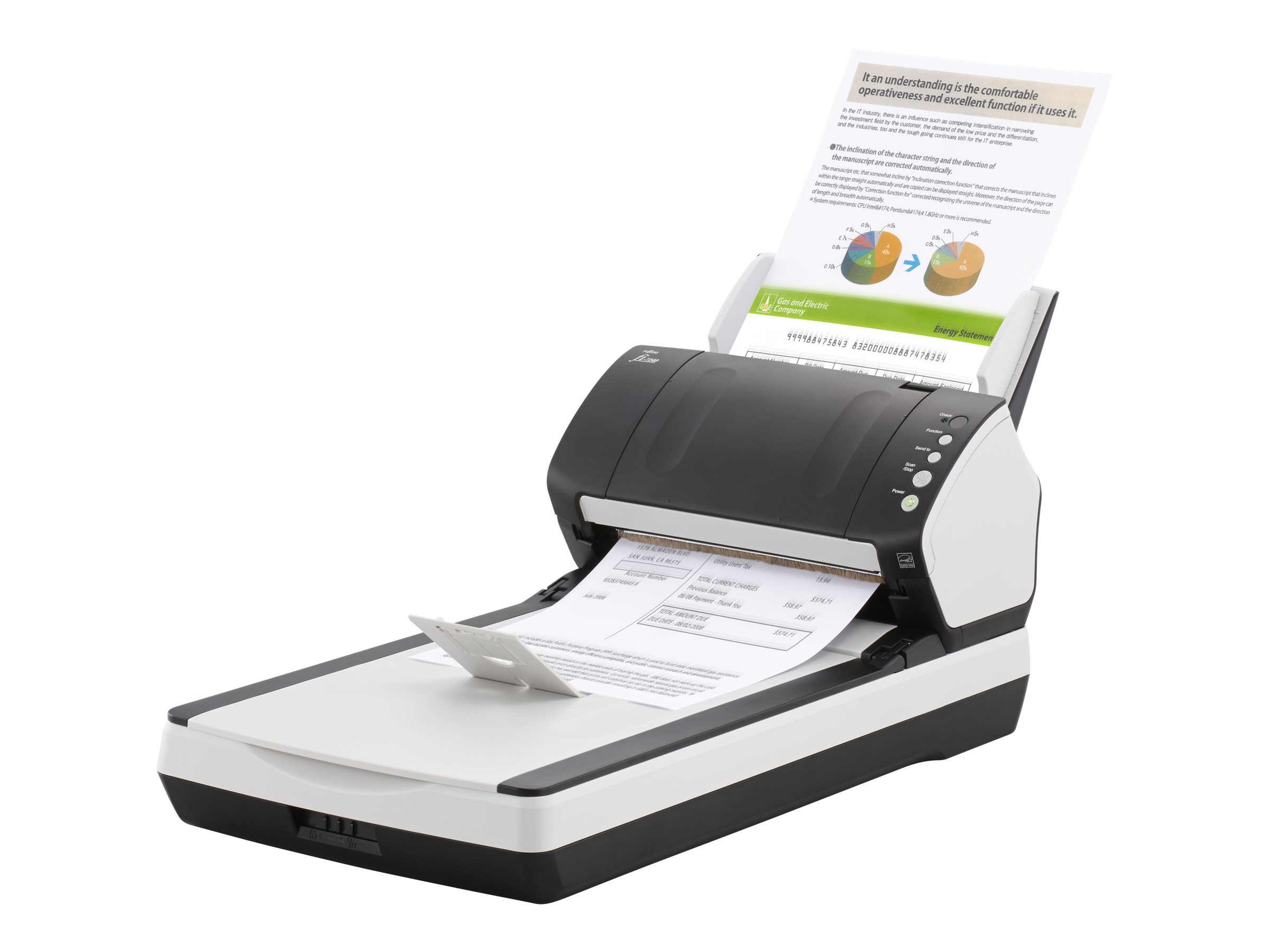 FI-7240 DOCUMENT SCANNER Includes PaperStream IP (TWAIN
