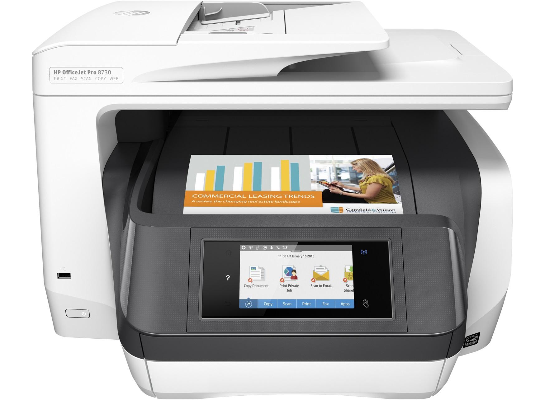 HP Officejet Pro 8 - Multifunktionsdrucker