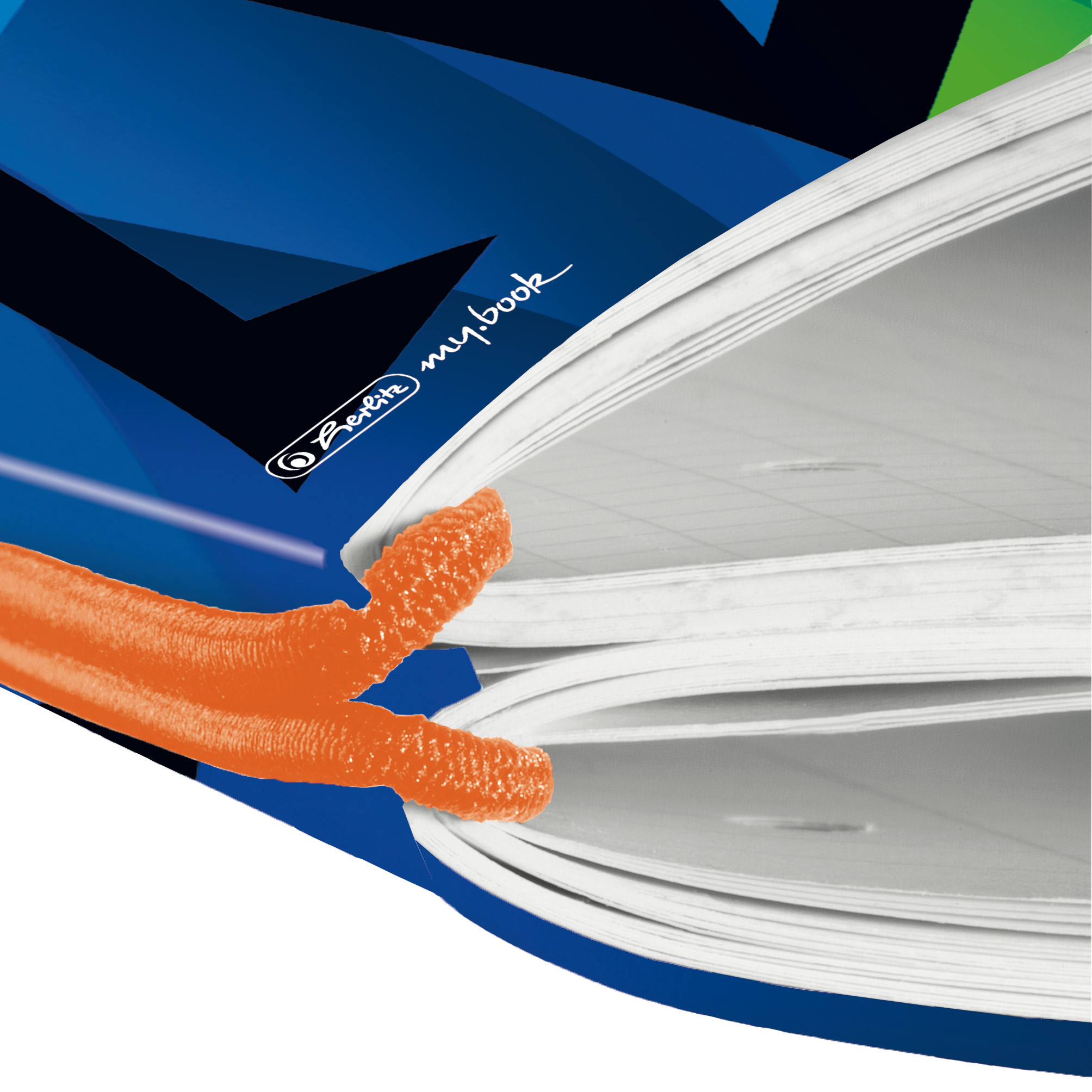 Herlitz Neon Art - Muster - Mehrfarbig - A4 - 80 Blätter - 80 g/m² - Kariertes Papier