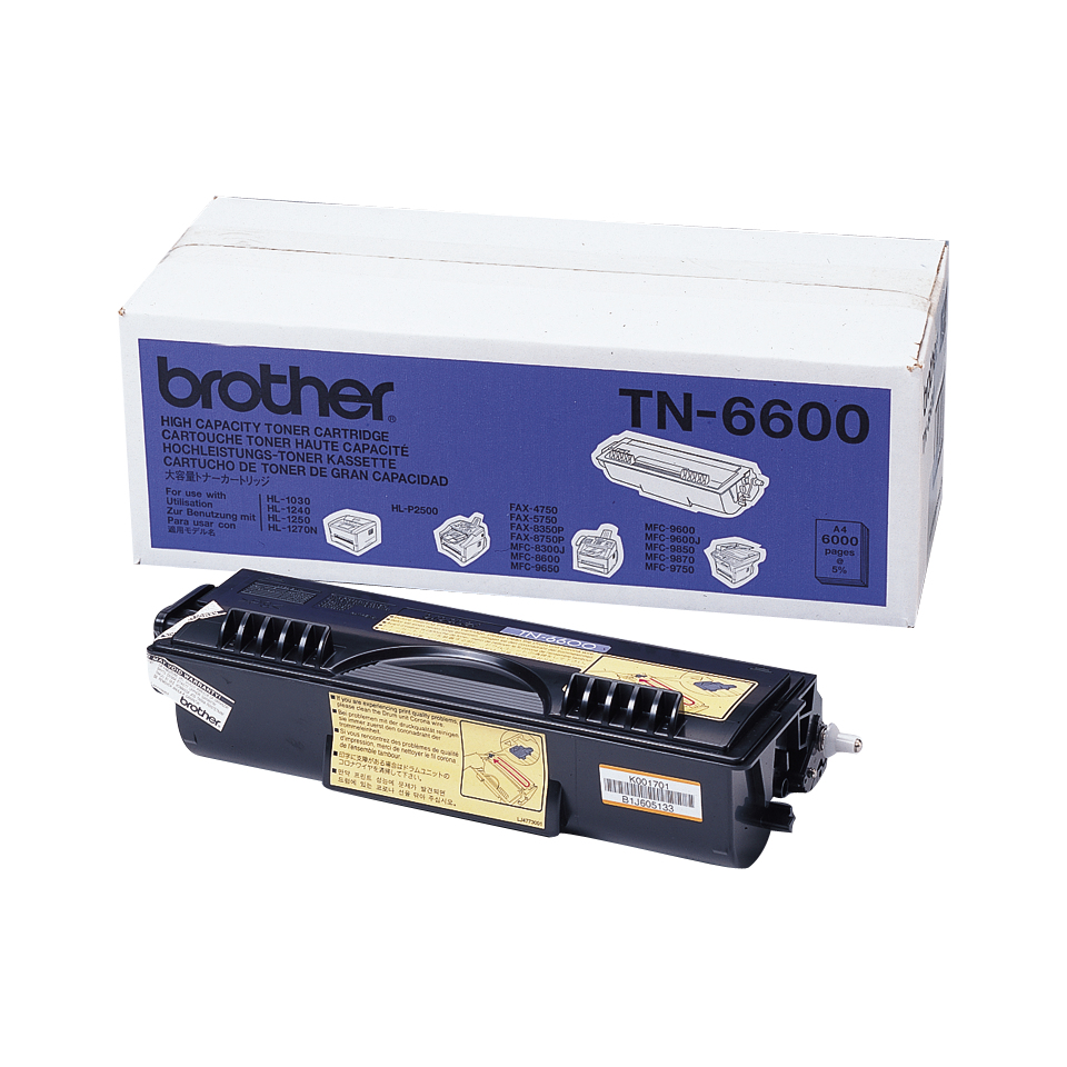 Brother TN TN-6600 - Tonereinheit Original - Schwarz - 6.000 Seiten