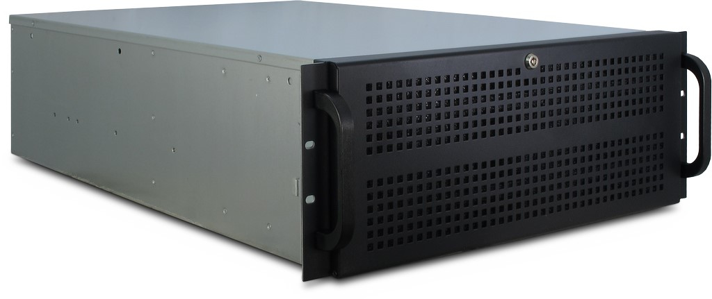 Inter-Tech IPC 4U-4129-N - Rack - Server - Stahl - Schwarz - Grau - ATX,EATX,EEB,Mini-ITX,uATX - Alarm - Festplatte - Netzwerk - Leistung