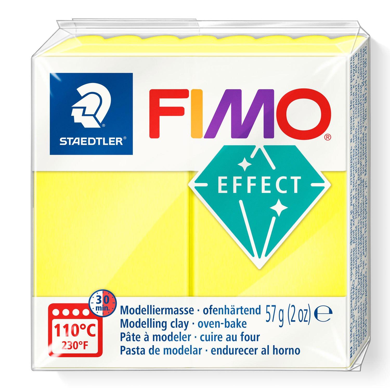 Vorschau: STAEDTLER FIMO 8010 - Knetmasse - Gelb - Erwachsene - 1 Stück(e) - Neon yellow - 1 Farben