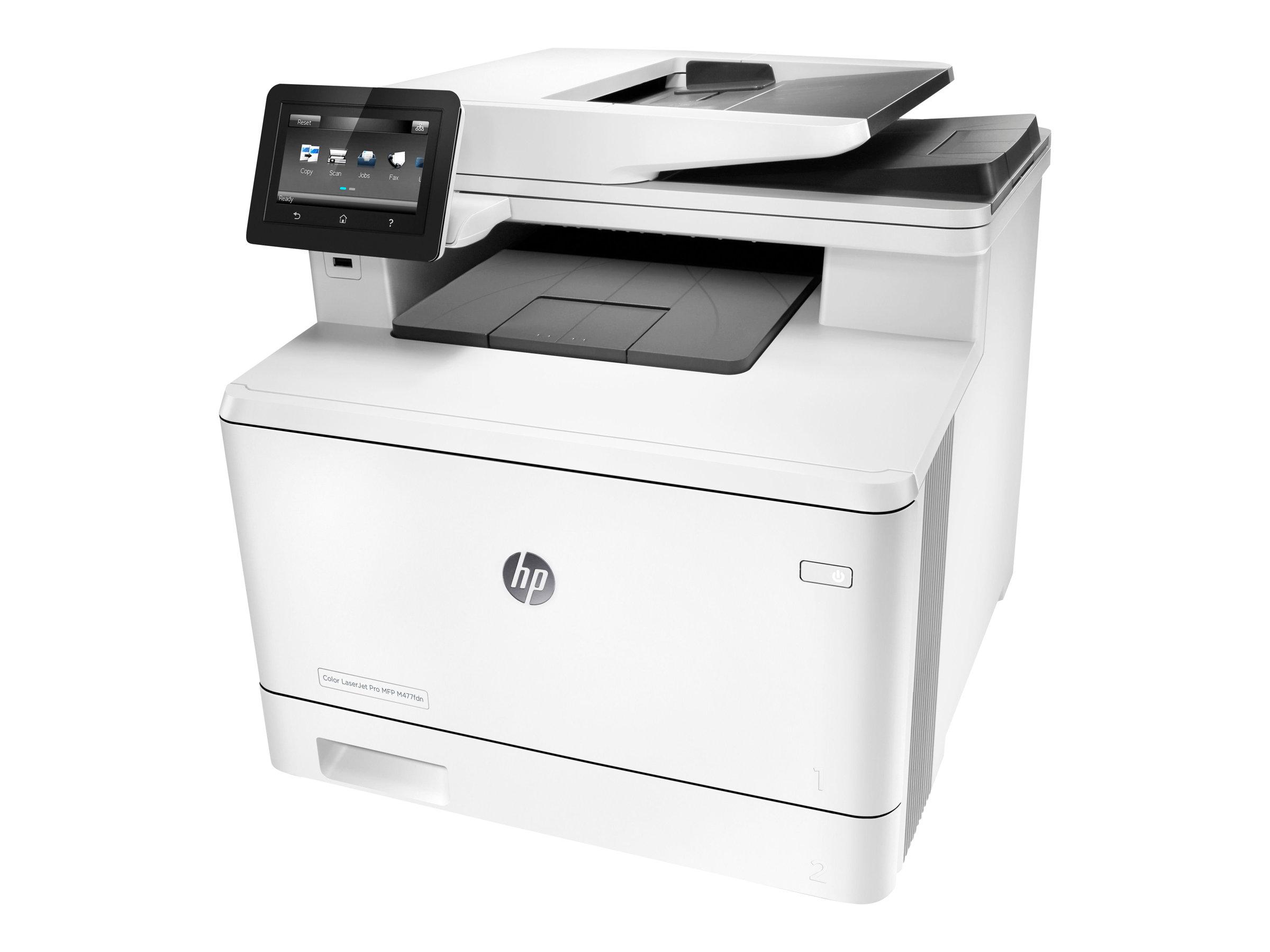 HP Color LaserJet Pro MFP M477fdn - Multifunktionsdrucker - Farbe - Laser - Legal (216 x 356 mm)