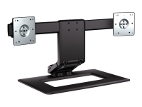 Adjustable Dual Display Stand 24Zoll Schwarz
