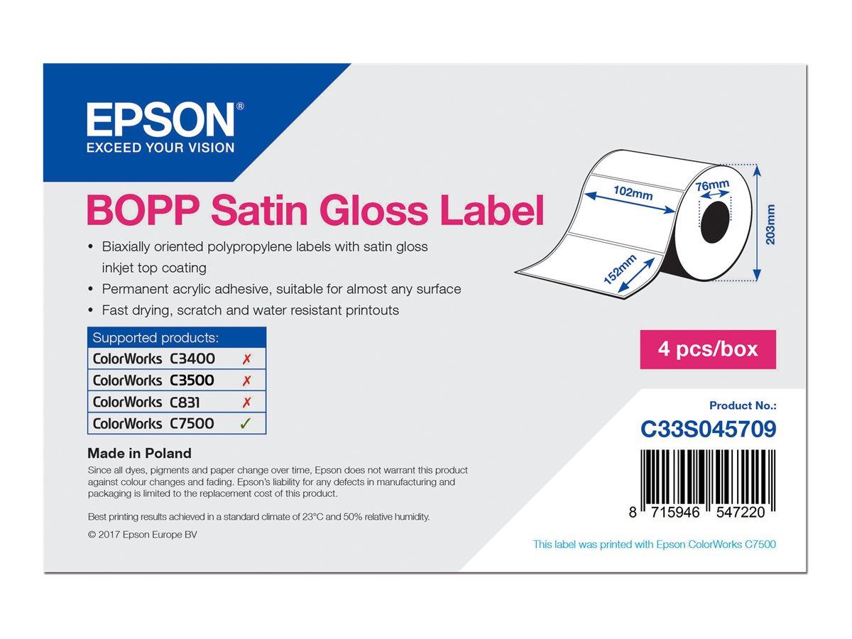 Epson Biaxial gestrecktes Polypropylen (PP)