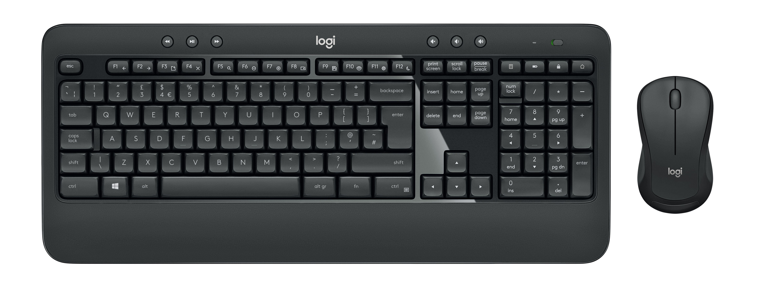Logitech MK540 Advanced Tastatur og mus-sæt Trådløs German QWERTZ
