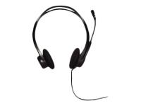 960 USB Binaural Kopfband Schwarz
