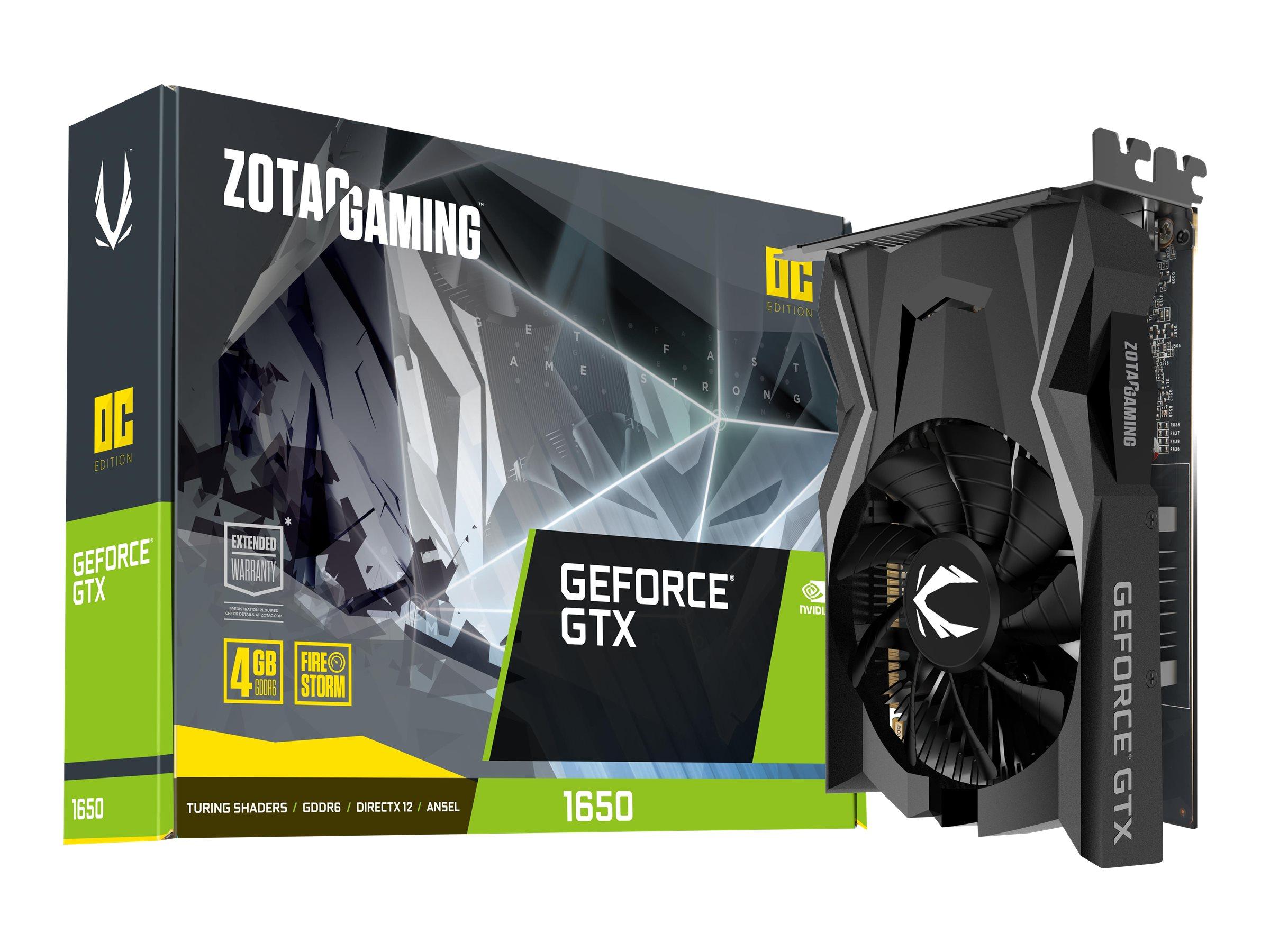 Vorschau: ZOTAC GAMING GeForce GTX 1650 OC - Grafikkarten