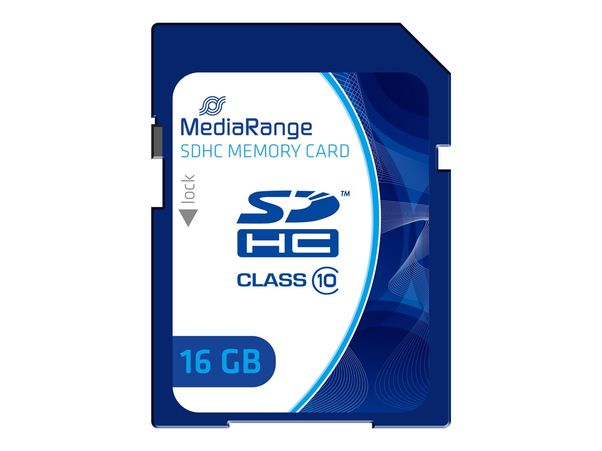 MEDIARANGE Flash-Speicherkarte - 16 GB - Class 10
