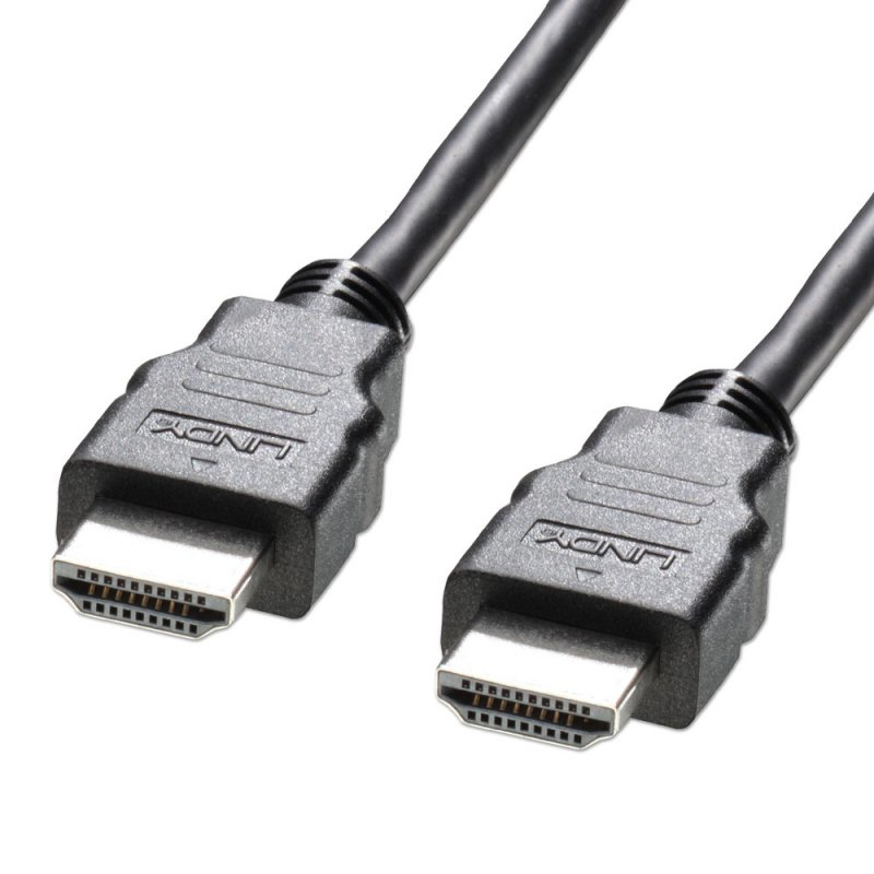 Lindy High Speed HDMI Cable with Ethernet - Video-/Audio-/Netzwerkkabel - HDMI