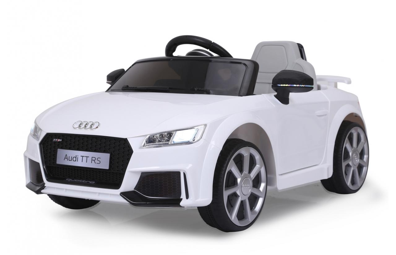 JAMARA Audi TT RS - Batteriebetrieben - Auto - 3 Jahr(e) - 4 Rad/Räder - Weiß - 6 Jahr(e)