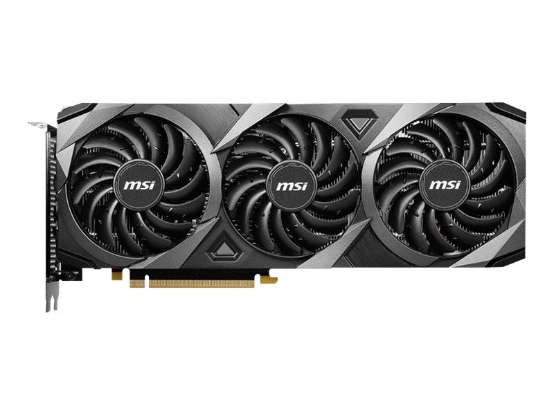 Vorschau: MSI GeForce RTX 3060 VENTUS 3X 12G OC - Grafikkarten