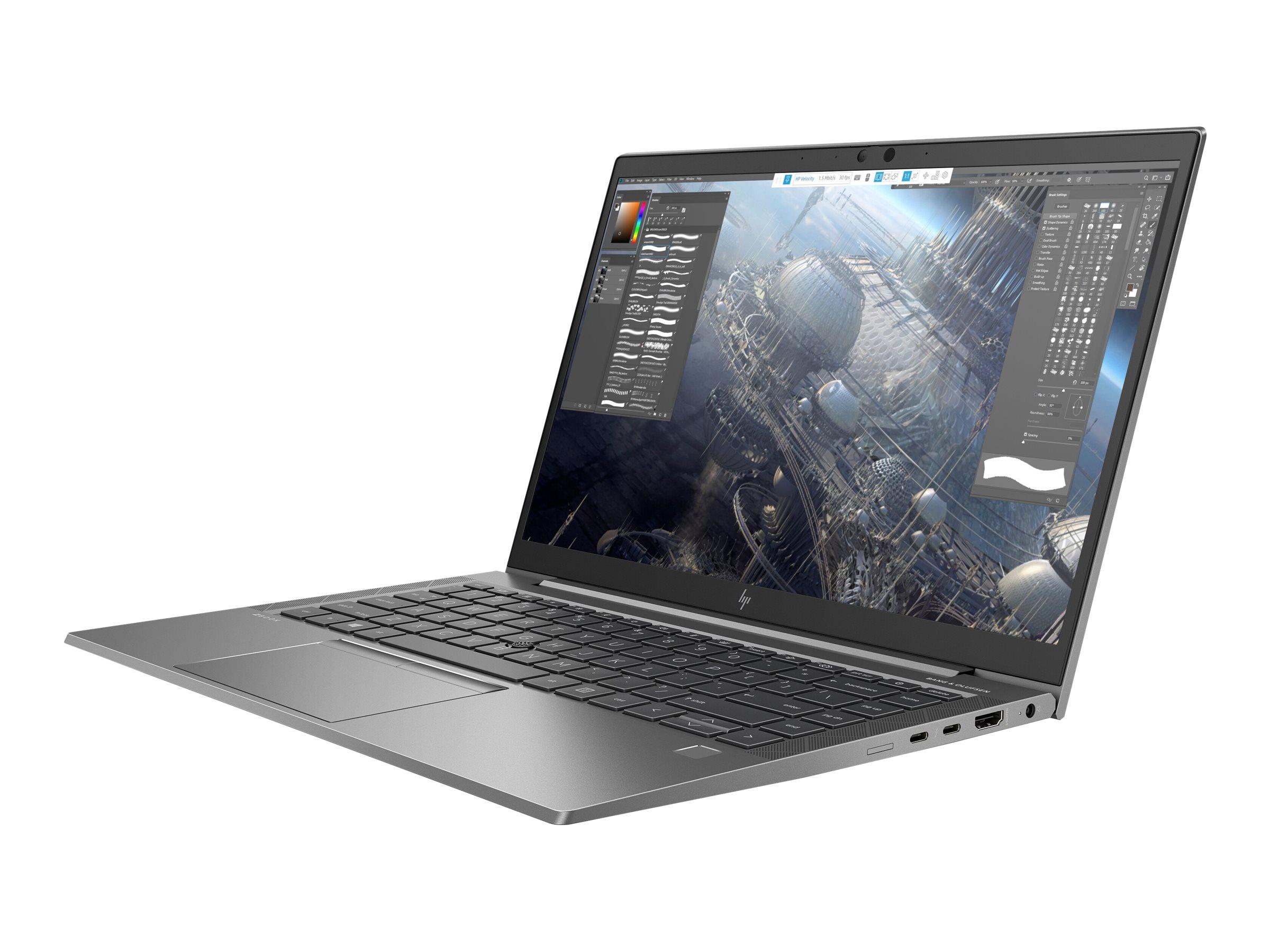 "HP ZBook Firefly 14 G7 Mobile Workstation - Core i7 10510U / 1.8 GHz - Win 10 Pro 64-Bit - 16 GB RAM - 512 GB SSD NVMe, TLC - 35.6 cm (14"")"
