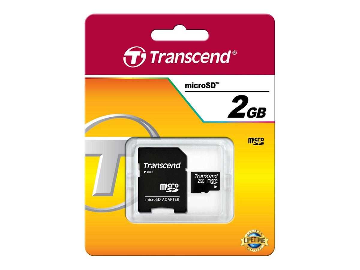 Transcend Flash-Speicherkarte (SD-Adapter inbegriffen)