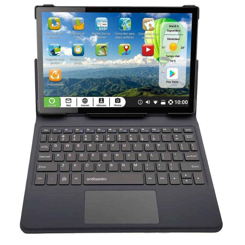 Vorschau: Ordissimo Faltbare Schutzhülle mit Tastatur für Tablet Celia