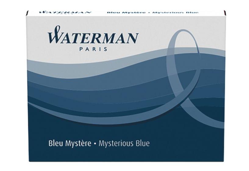 WATERMAN S0110910 - Blau - Blau - Weiß - Füllfederhalter - 8 Stück(e)