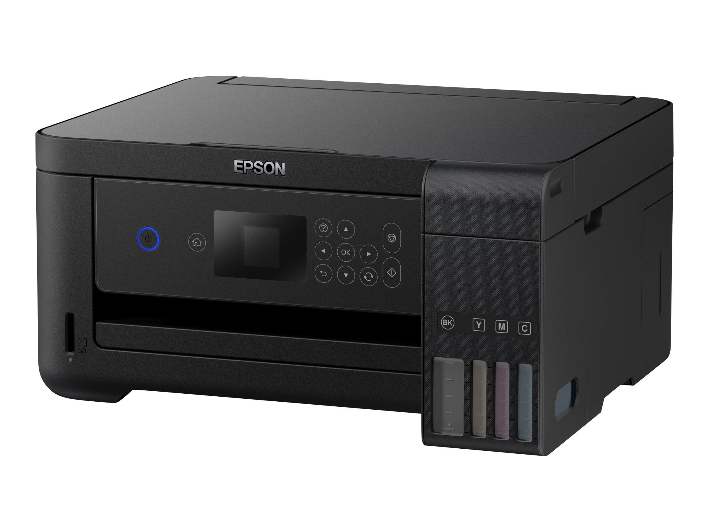 Epson EcoTank ET-2750 - Multifunktionsdrucker - Farbe - Tintenstrahl - Letter A (216 x 279 mm)/