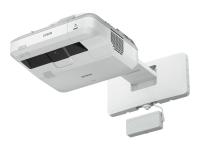 EB-710Ui Desktop-Projektor 4000ANSI Lumen 3LCD WUXGA (1920x1200) Grau - Weiß Beamer