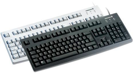 Cherry Classic Line G83 6105 - Tastatur - Laser - 105 Tasten AZERTY - Schwarz