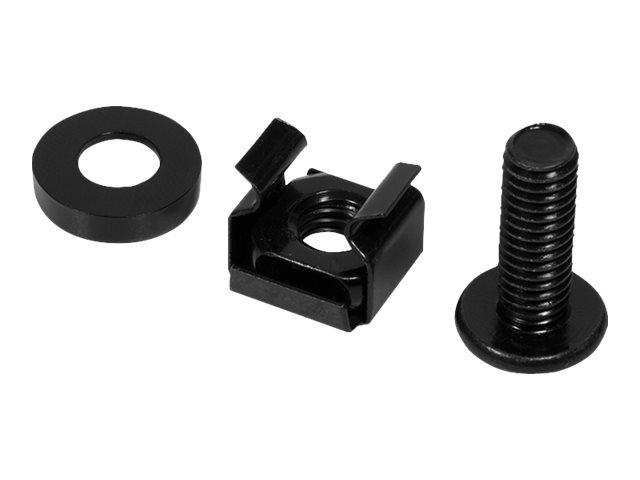 """LogiLink Schrauben-Kit - Schwarz - 48.3 cm (19"""")"""