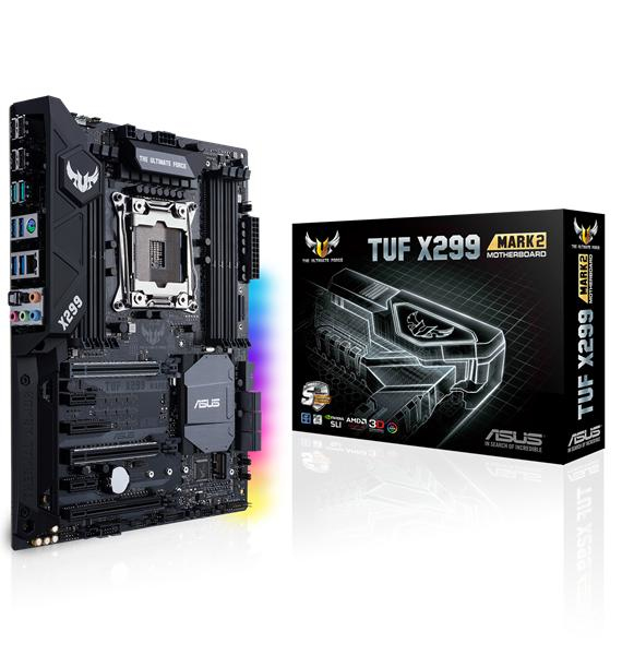 ASUS TUF X299 MARK 2 Intel X299 LGA 2066 ATX Motherboard