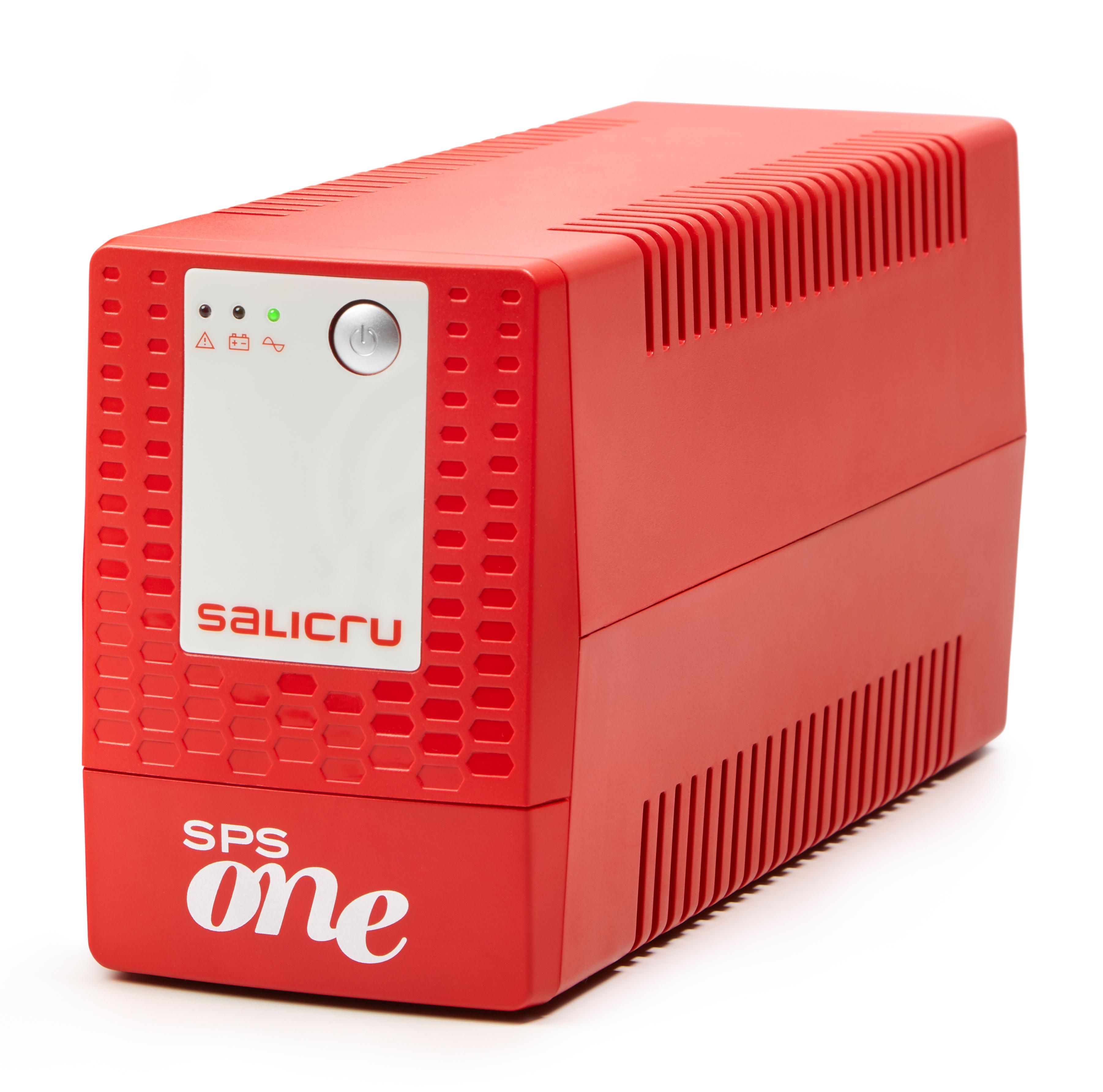 Vorschau: SALICRU USV SPS 900 ONE IEC, Line Int, 2 Plugs, 900VA/480W - (Offline-) USV - (Offline-) USV